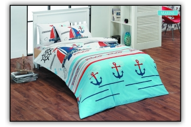 Classic Bedlinen Set - Marine 6634-01 / New Season