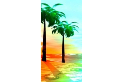 Beach Towel - Palm Beach