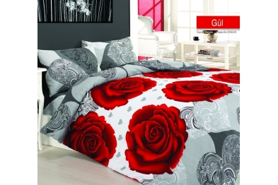 Classic Bedlinen Set - Gül 37552-03 / New Season