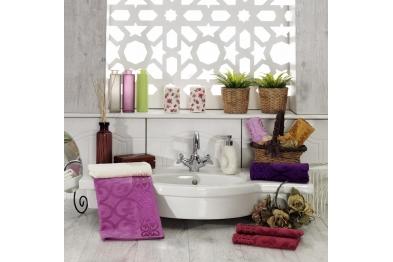 Jacquard Velvet Hand Towel Set