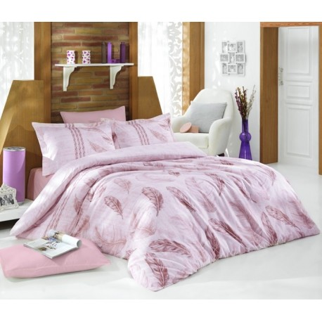 Satin Bedlinen - Elena Dusty Rose