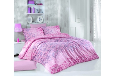 Satin Bedlinen - Deco Rose Pink
