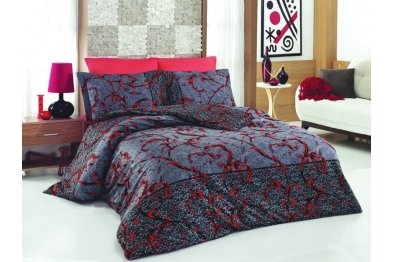 Satin Bedlinen - Avantgarde Red