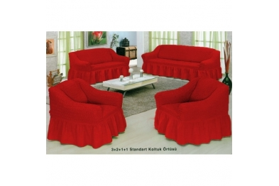 Standard Chair Cover - 03 Claret Red