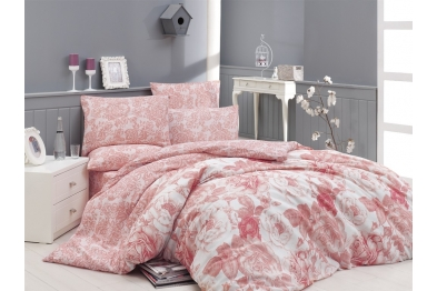Classic Bedlinen Set - Rosa Somon / New Season