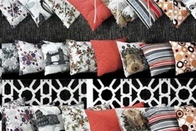 Panama Fabric Pillow patterns
