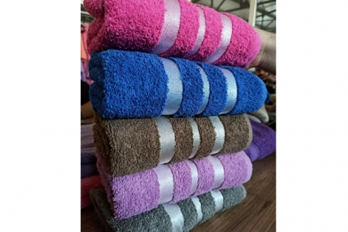 Production Towel - 6 in one package - in PVC - 005