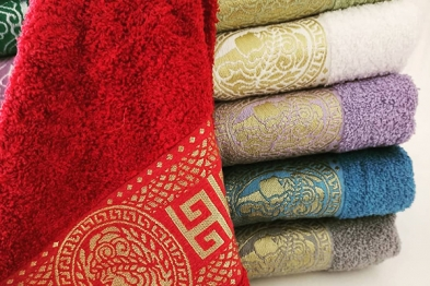 Production Towel - 6 in one package - in PVC - 006