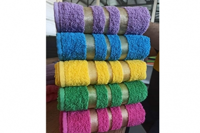 Production Towel - 6 in one package - in PVC - 008